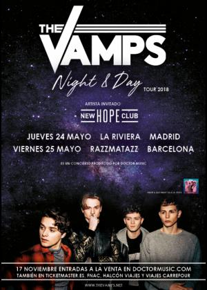 Concierto de The Vamps en Barcelona