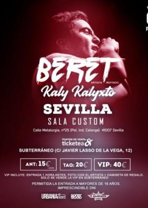 Concierto de Beret en Sevilla