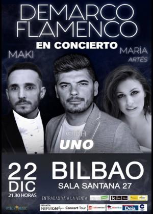 Concierto de Demarco Flamenco en Bilbao