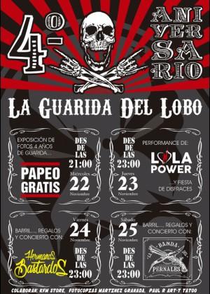 Concierto de Lola Power + Hermanos Bastardos + La Banda Del Pernales en Granada