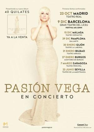 Concierto de Pasión Vega en Sevilla