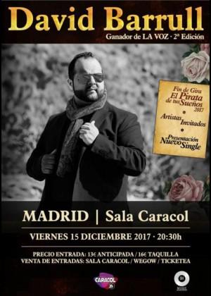 Concierto de David Barrull en Madrid