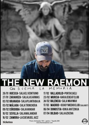 Concierto de The New Raemon en Zaragoza