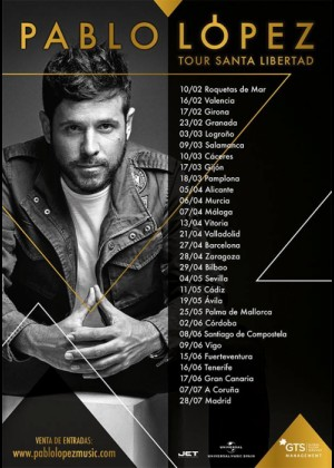 Concierto de Pablo López en Ávila
