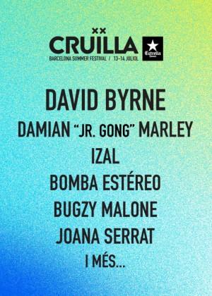 Cartel de Festival Cruïlla 2018
