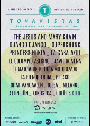 Cartel de Festival Tomavistas 2018