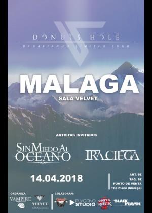 Concierto de Donuts hole + Sin miedo al Oceano + ira Ciega en Málaga