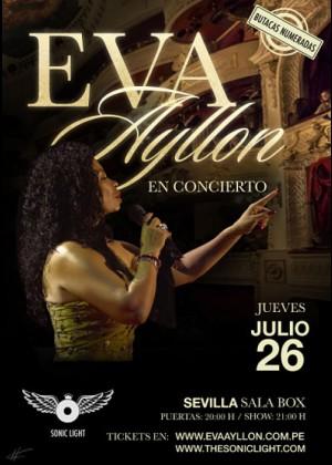Concierto de Eva Ayllón en Sevilla