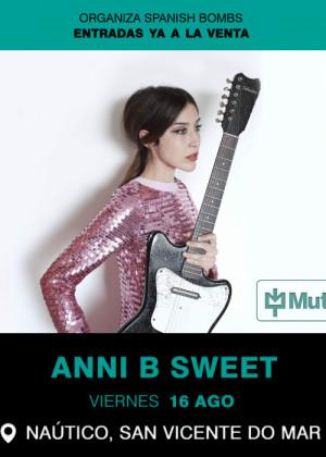 Concierto de Anni B Sweet en O Grove