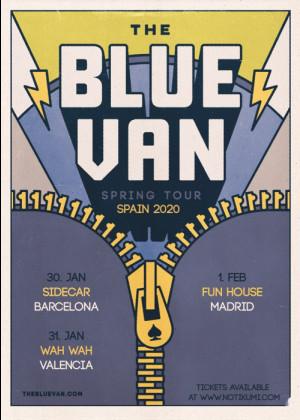 Concierto de The Blue Van + invitado en Valencia