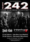 Concierto de Front 242 en Madrid