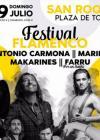 Concierto de Antonio Carmona en San Roque