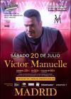 Concierto de Víctor Manuelle en Madrid