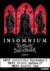 Concierto de Insomnium + The Black Dahlia Murder + Stam1na en Madrid