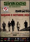 Concierto de Sínkope en L'Hospitalet de Llobregat