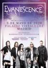 Concierto de Evanescence en Madrid