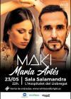 Concierto de Maki + Maria Artes en Barcelona