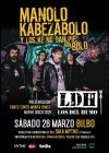 Concierto de Manolo Kabezabolo en Bilbao