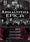 Concierto de Apocalyptica + Epica + Wheel en Madrid