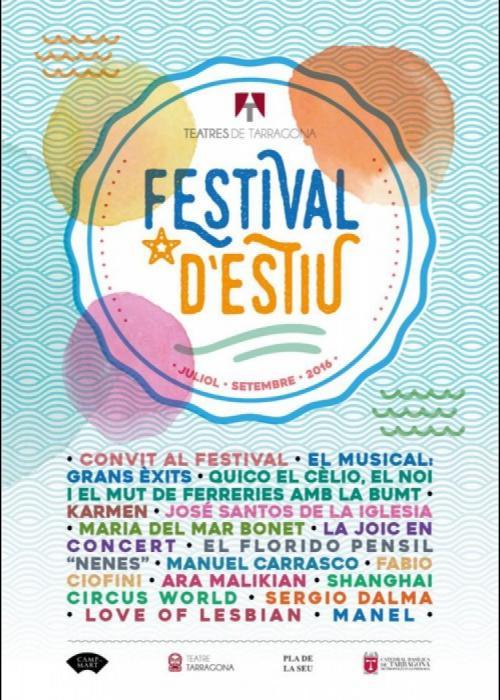 Festival D Estiu De Tarragona Programación Conciertos 2021 Comprar Entradas