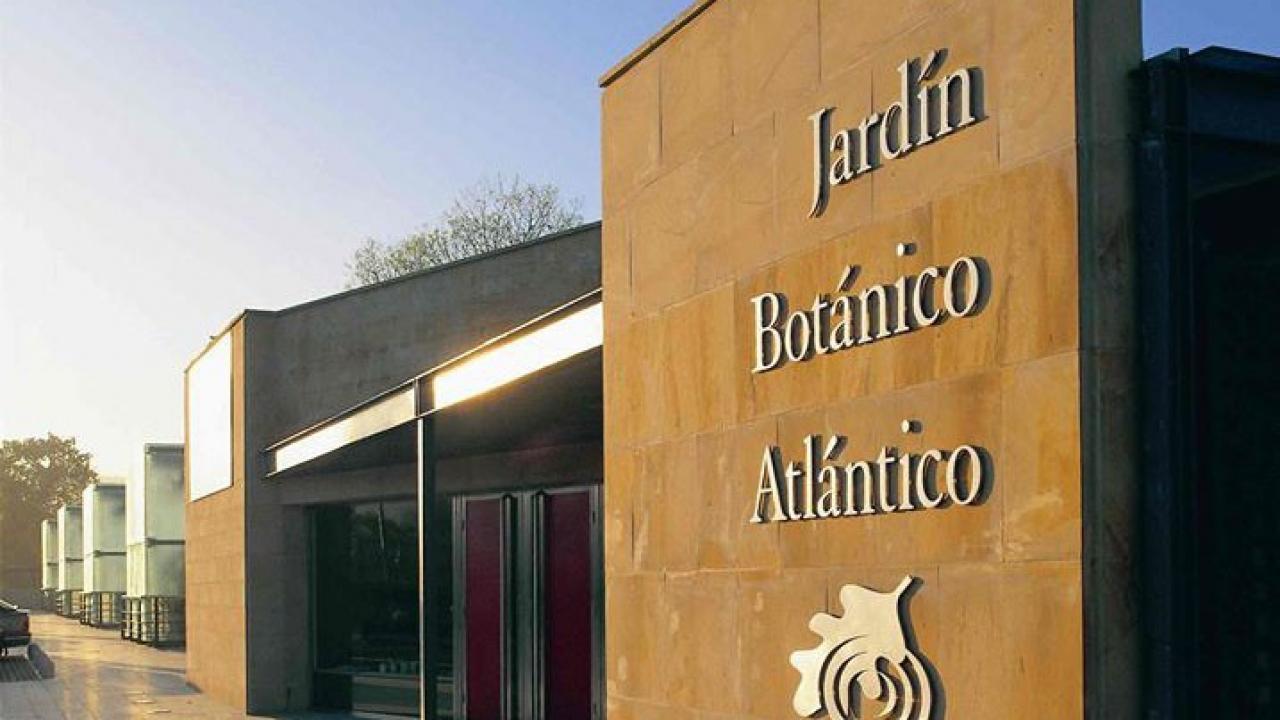 Logo de Jardín Botánico Atlántico