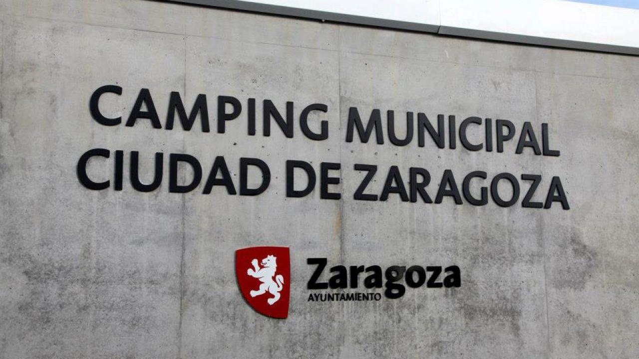 Logo de Camping Municipal de Zaragoza