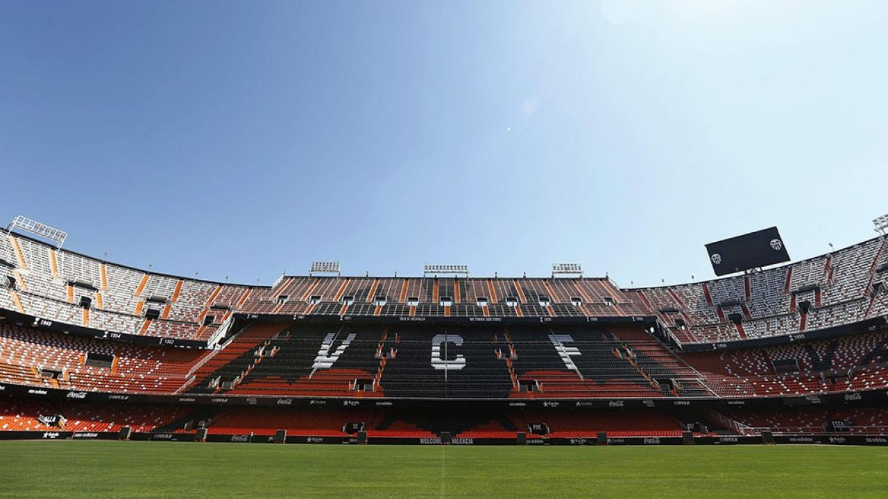 Logo de Estadio de Mestalla