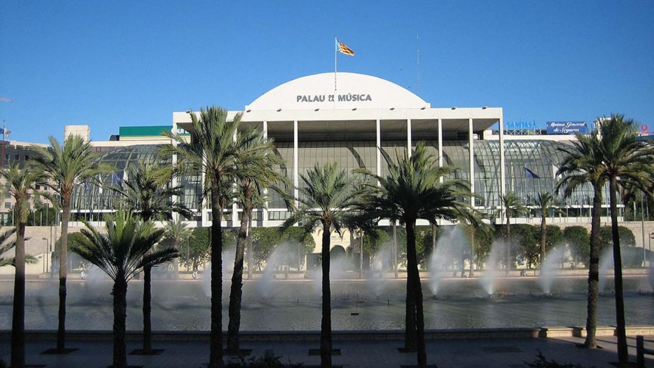 Logo de Palau de la Música de Valencia
