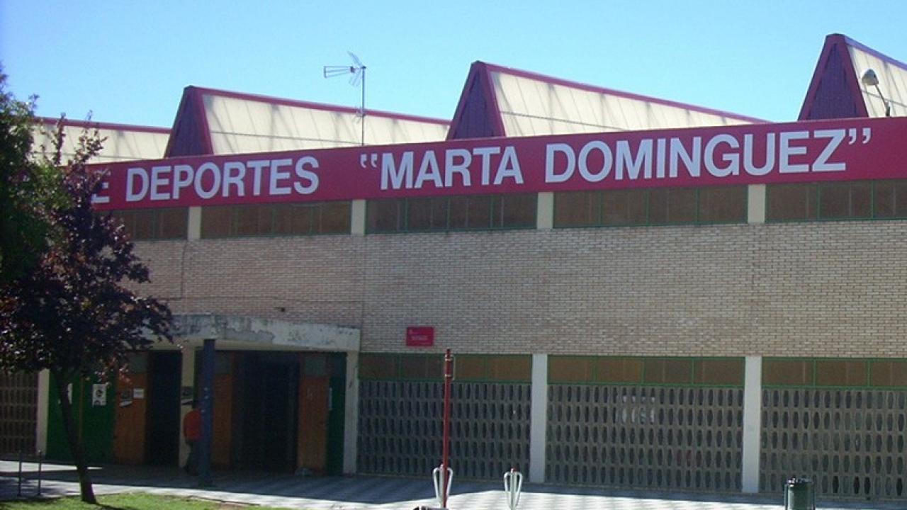 Logo de Pabellon Municipal de Deportes Marta Dominguez