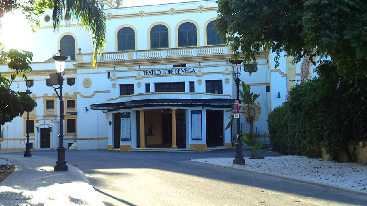 Logo de Teatro Lope de Vega de Sevilla