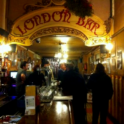 Logo de London Bar