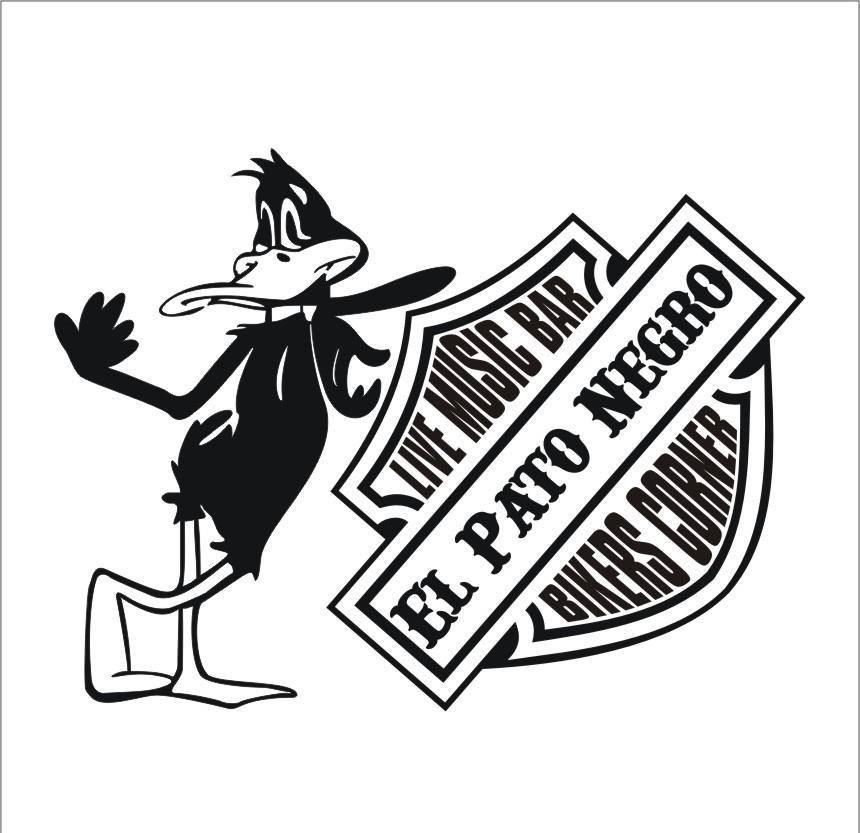 Logo de El Pato Negro