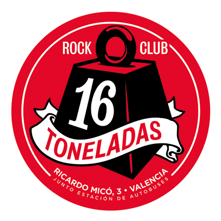 Logo de Sala 16 toneladas