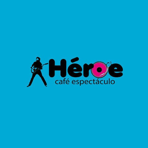 Logo de Sala Héroe Café