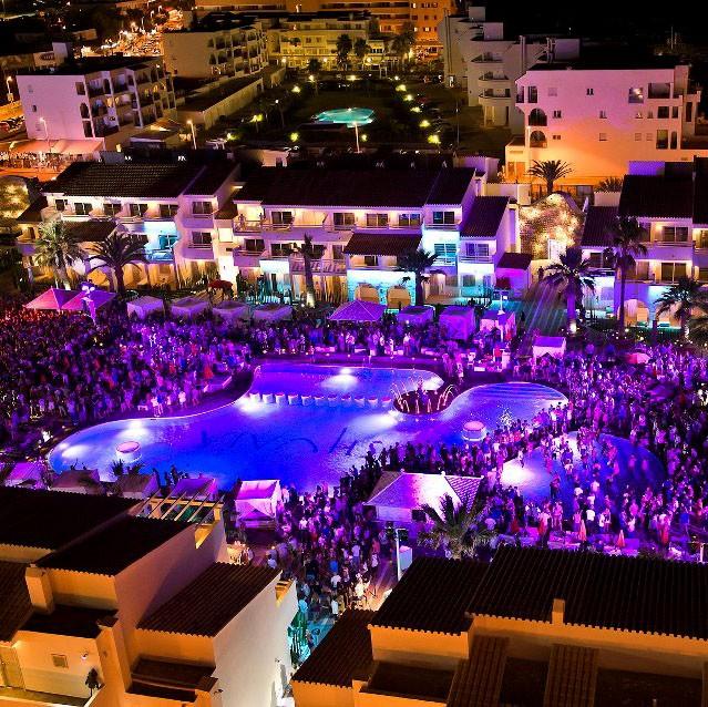 Logo de Hotel Discoteca Ushuaïa de Ibiza