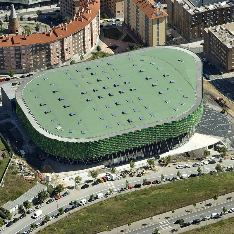 Logo de Palacio de los Deportes Bilbao Arena Miribilla