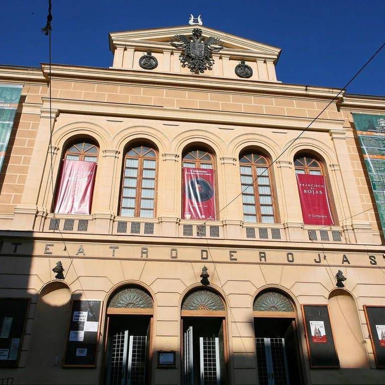 Logo de Teatro Rojas