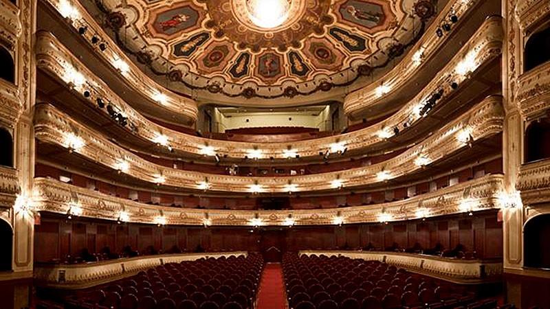 Logo de Teatro Rosalia de Castro