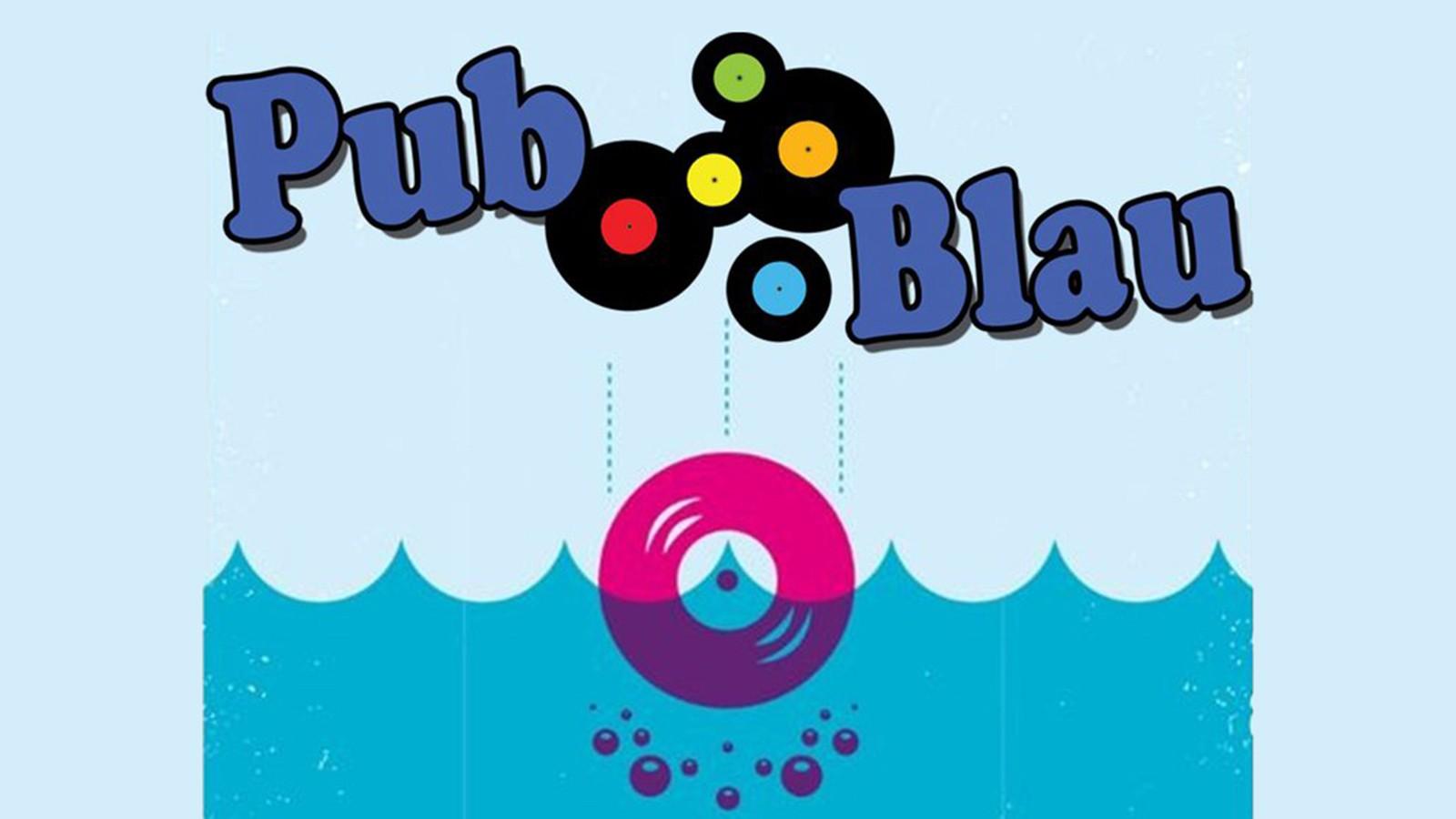 Logo de Pup Blau (Sala Oh Yeah)