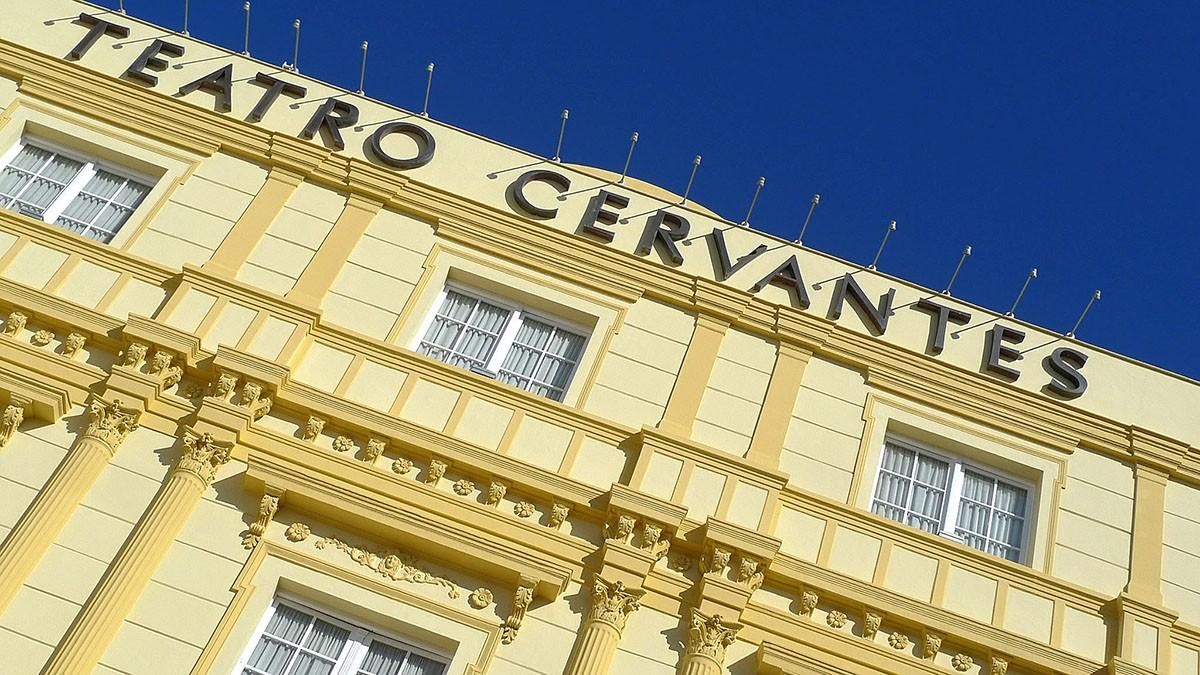 Logo de Teatro Cervantes de Málaga
