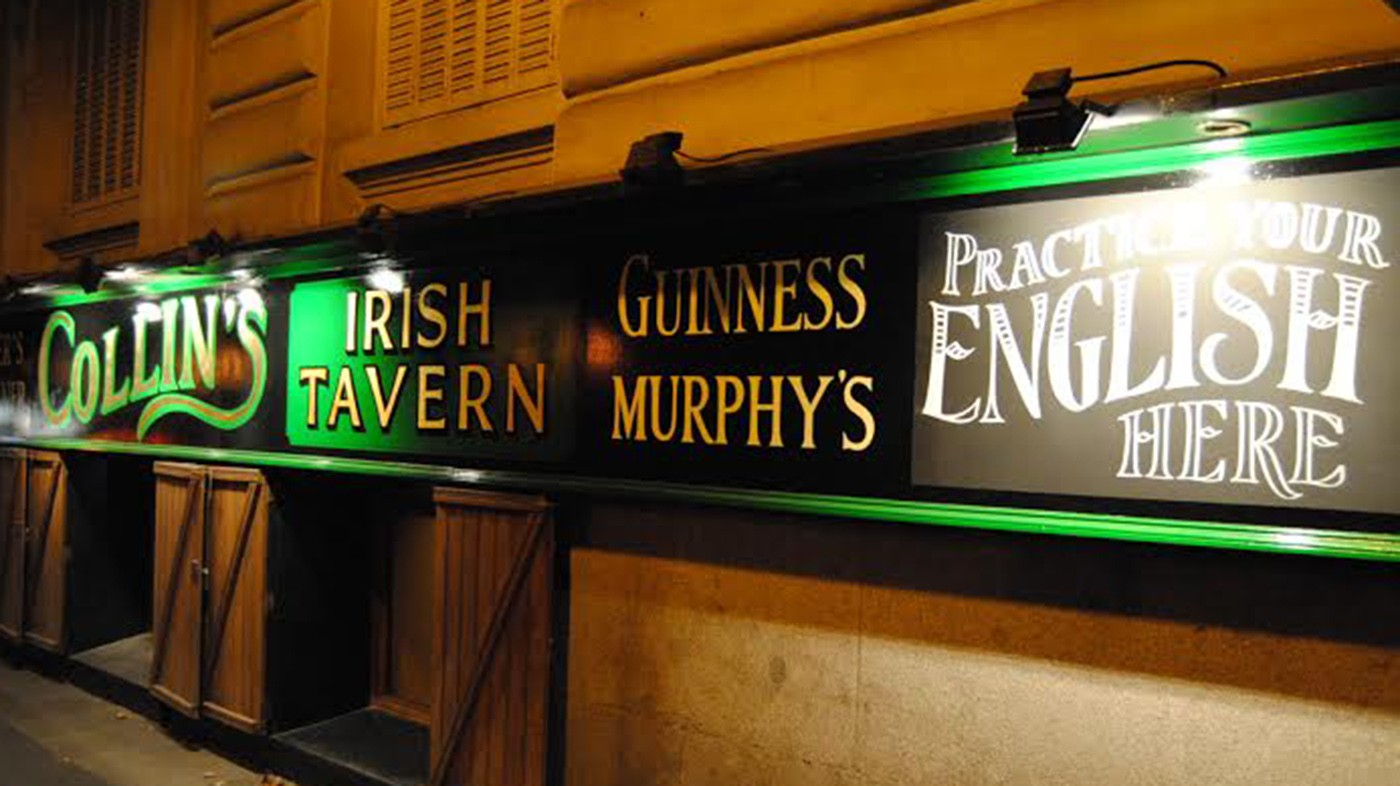 Logo de Collins Irish Tavern