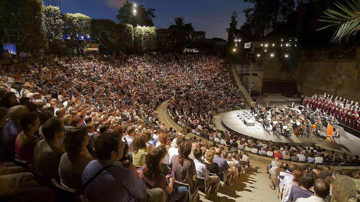 Logo de El Teatro Grec de Montjuic