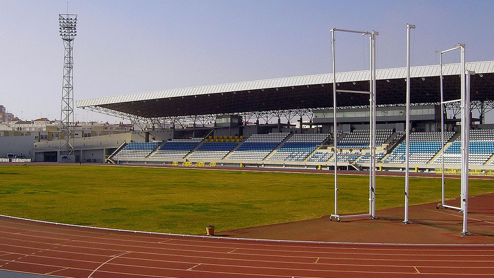 Logo de Estadio iberoamericano de atletismo
