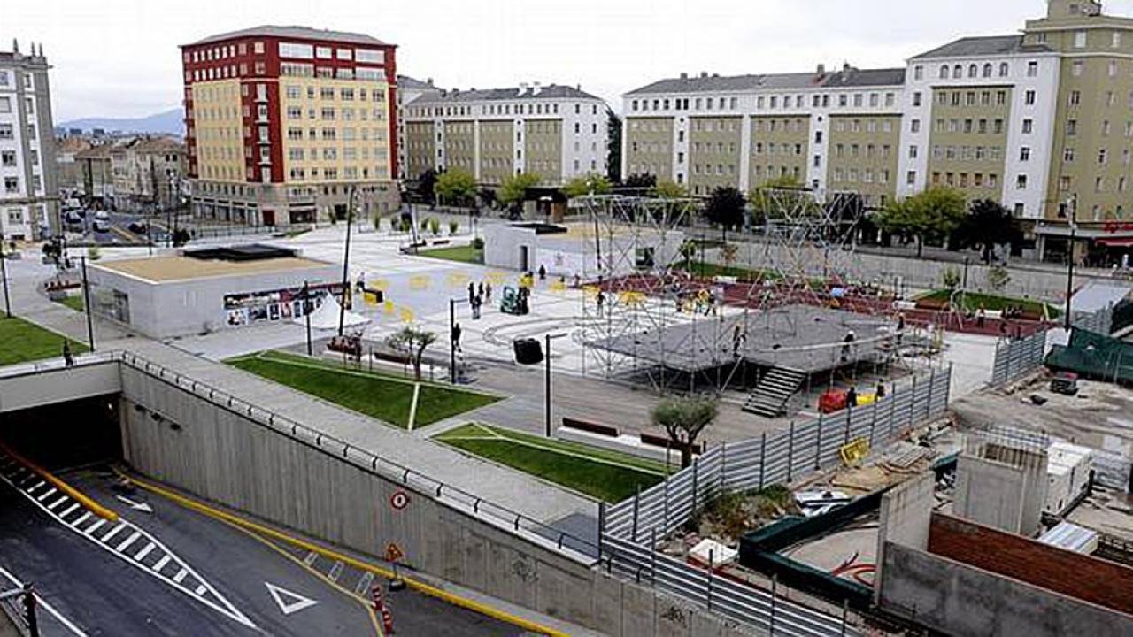 Logo de Plaza España de Ferrol