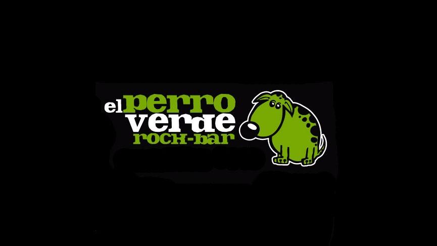 Logo de Perro Verde Rock Bar
