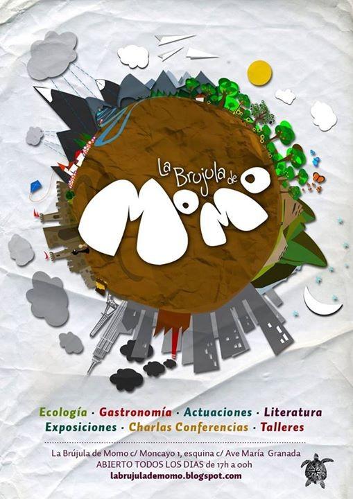 Logo de La Brújula de Momo