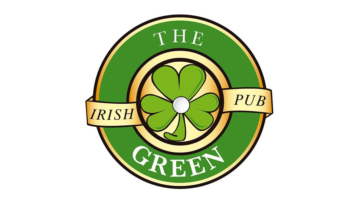 Logo de The Green Irish Pub