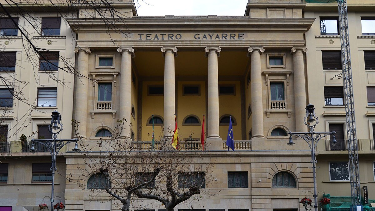 Logo de Teatro Gayarre de Pamplona