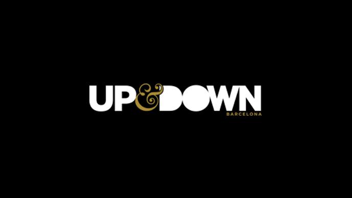 Logo de Discoteca Up&Down de Barcelona