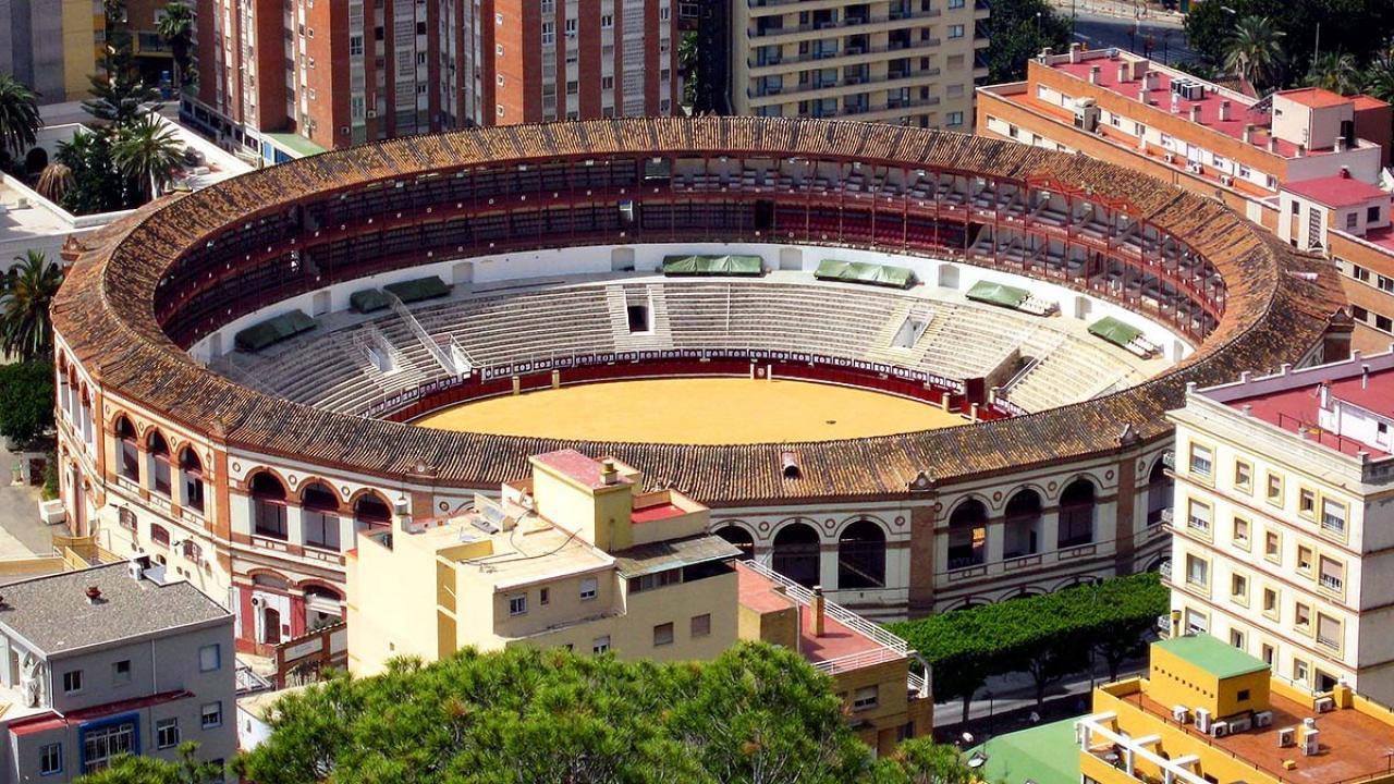 Logo de Plaza de Toros de Málaga, La Malagueta